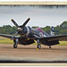F4U-4 Corsair on the Tarmac