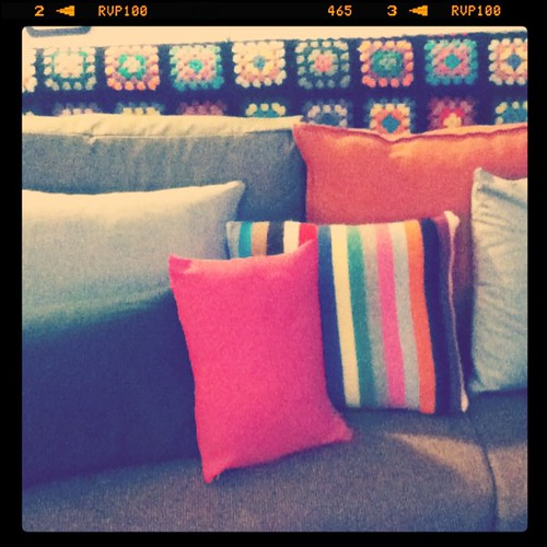 I made a bunch of pillows today!