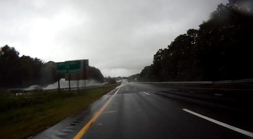 rain into rhode island