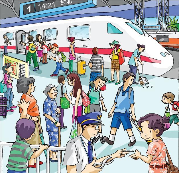 客語能力認證初級考試_看圖說故事_09坐火車
