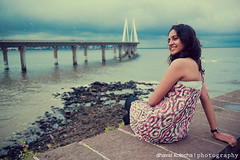 Serene Beauties: Sea, Sea Link & My Shona photo by Dhaval Kotecha