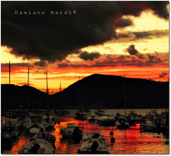 Lerici - Porticciolo al tramonto - photo by in eva vae