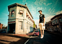 Street Levitation photo by Sky Noir