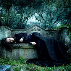 Between life and death photo by katmary