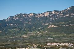 Das Gemeindegebiet Kurtatsch, von Montan aus