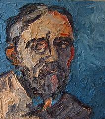 Head of an Artist photo by De More