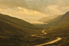 Road to Loch Maree, Scotland photo by David Alexander Elder