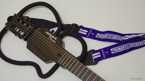 Official AFL guitar strap