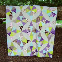 Kaleidoscope Quilt Top Hanging 2 photo by Marci Girl Designs
