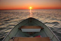 Sunrise - Lake St Clair photo by cedarkayak