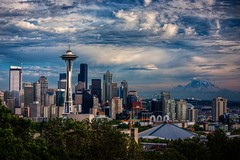 Summer Sky Over Seattle photo by Fresnatic