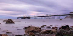 Llandudno Pier in the fading light (North Wales) photo by Anthony Owen-Jones