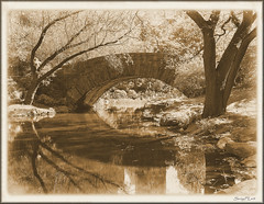 Stone Bridge in Central Park, New York photo by SunyFLx4