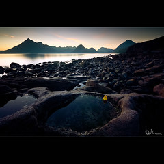A Calm Evening over Elgol photo by David Hannah