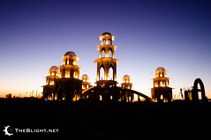 The Temple of Transition, Burning Man 2011 photo by mr. nightshade