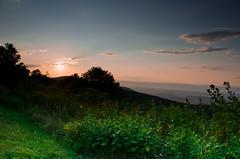 Blue ridge sunset..!! [Explore #317] photo by Hussain M Ashoor