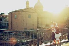 Rome at sunset photo by josemanuelerre