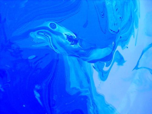 Blue Paint Mix
