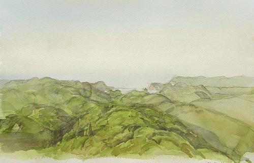 ■高森登志夫展■ — 風景の視点・水彩スケッチ —