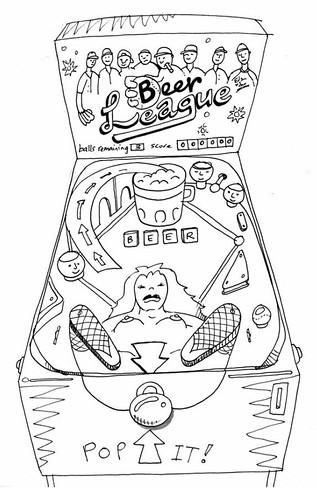 Poonball Concept Sketch
