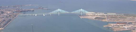 Puente de la Pepa Cadiz