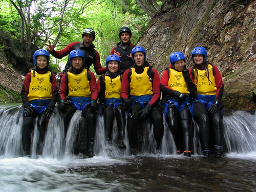 A Fish Out Of Water Canyoning In Minakami