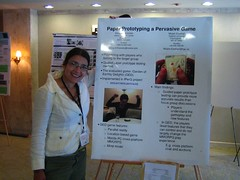 Me with Elina's and mine poster at ACE2006