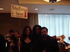 stefano is here
