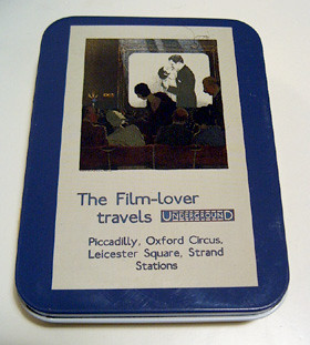 Film Lover Travels Underground Tin