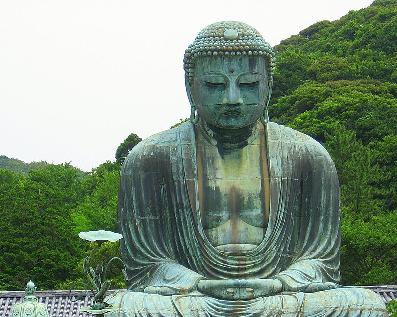 The Great Buddha at Kotoku-in