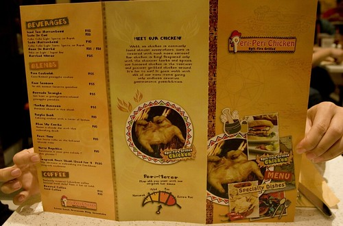 Peri Peri Chicken Experience