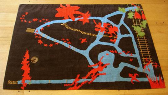 Amy Helfand, Rugs, RugMark, Eco-friendly rugs, Green Design, Sustainable Rugs, Nepal