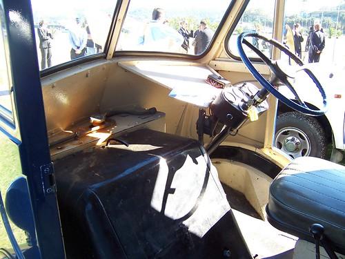 1951 Morris J Van interior
