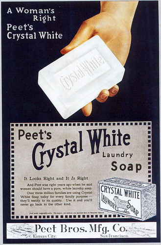 Crystal White Laundry Soap, 1916