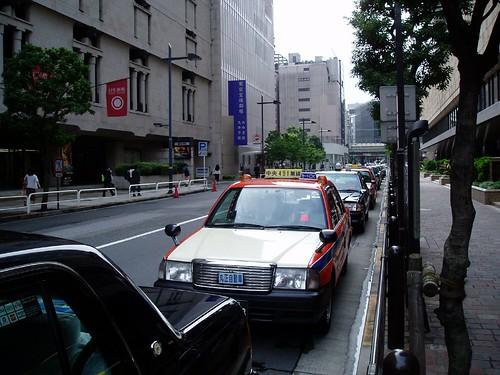 Taxi Line near my hotel