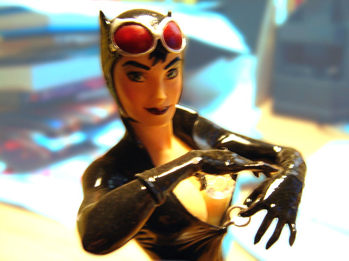Figura Catwoman (Women of the DC Universe - Designed Adam Hughes)