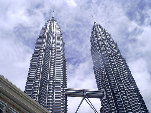 The Petronas Towers by Thomas Evans