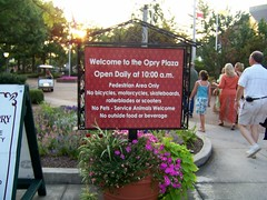 Grand Ole Opry - Info Sign