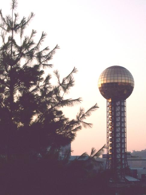 Sunsphere sunrise