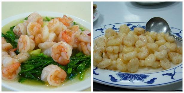你分得出哪一盤用的是冷凍蝦仁,哪一盤是現剝的新鮮蝦仁嗎?