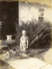 Tim, 1st Day of School, 1st Grade, 1962