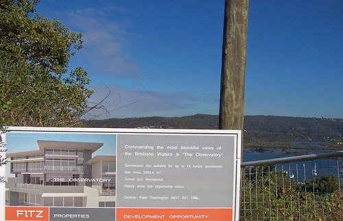 The Observatory building site John Whiteway Drive Gosford