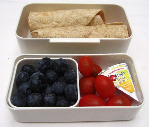 Wrap snack bento for mom/toddler