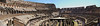 Colosseum Interior Panorama