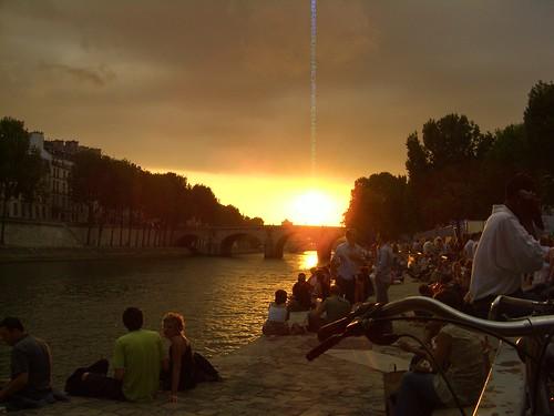 Vue de Paris Plage