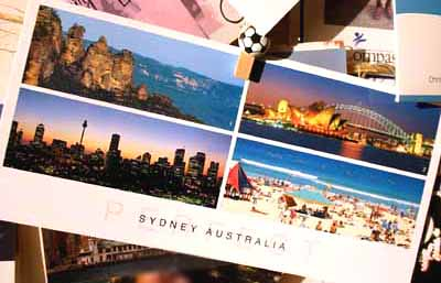 Blogger Postcards