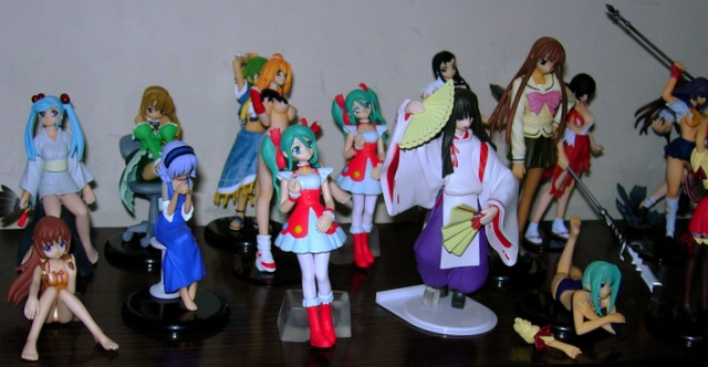 gashapon figures