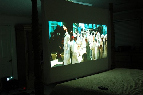 rear projection bedroom tv project | chris palmer's avoidance central