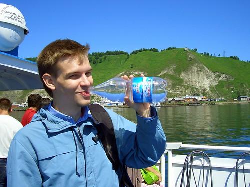 Попивая воду Байкала \ Drinking Baikal Water