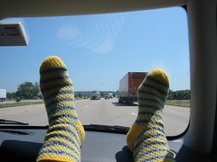 socks on the road